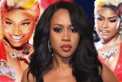 Remy Ma Shadily Reacts to Nicki Minaj's BET Awards Performance?