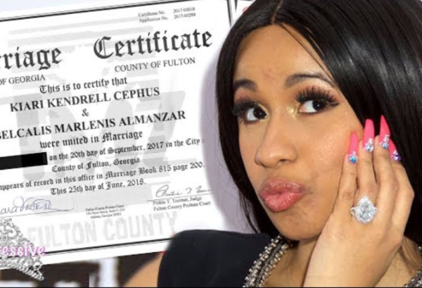 Cardi B Was Secretly Married to Offset!