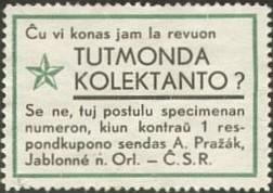 Glumarko - Ĉeĥio, 1930aj jaroj