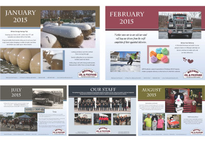 6oth Anniversary Calendar