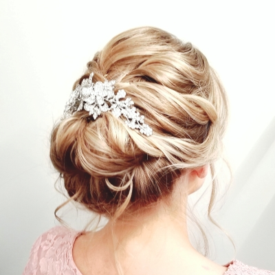 Wedding Updo, Bridal, Bride