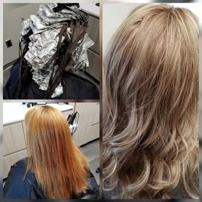 Full highlight, All Over Color, and Trim (color correction)