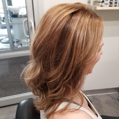 Balayage, Retouch, and Trim
