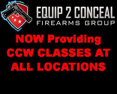 Equip2Conceal, CCW Class, Gun Show, Denver, Loveland, Greeley, Colorado Springs, Longmont, Colorado