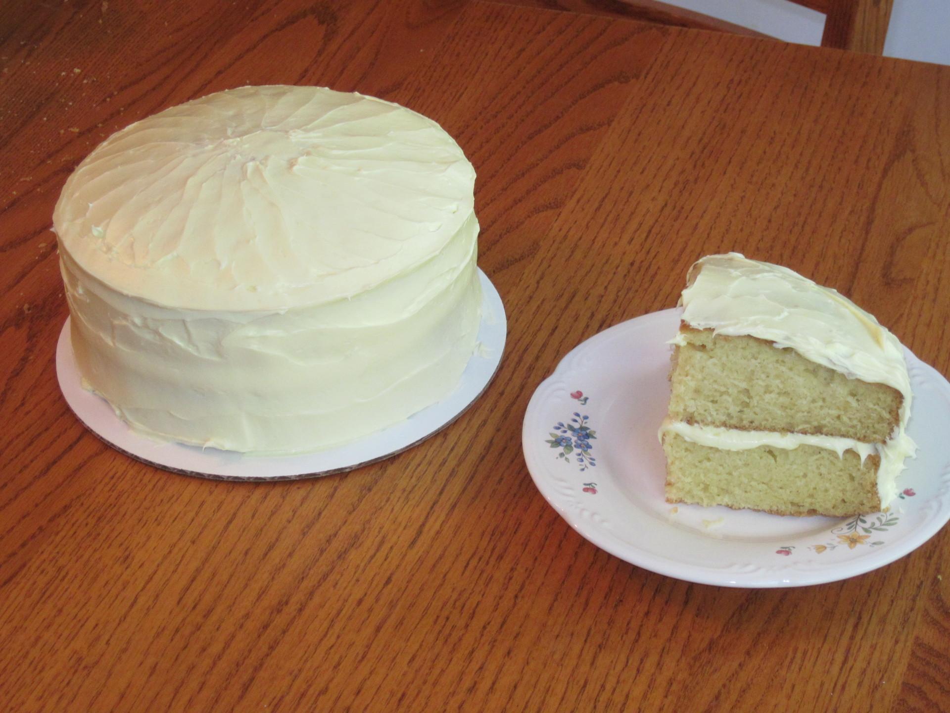 LEMON CAKE/FROSTING