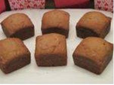 BANANA NUT CAKES