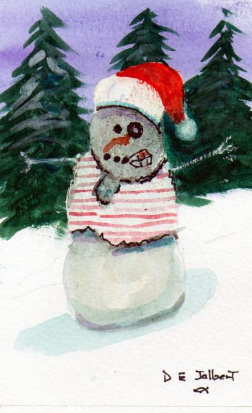 Snow Folk Zombie