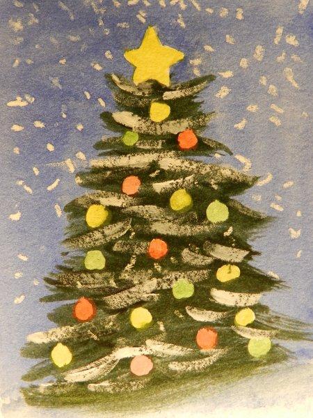 Christmas Tree 5 point Star