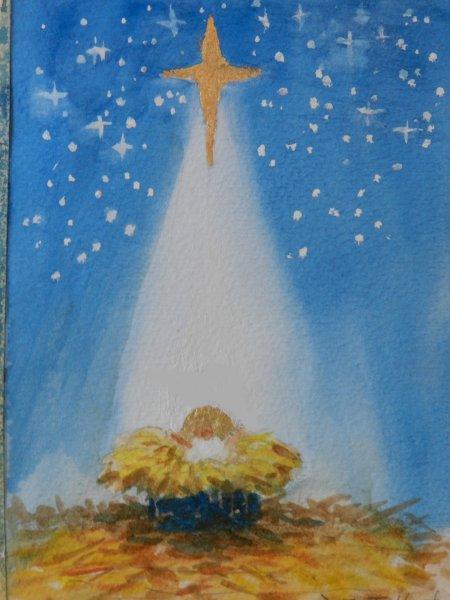 Gold Nativity