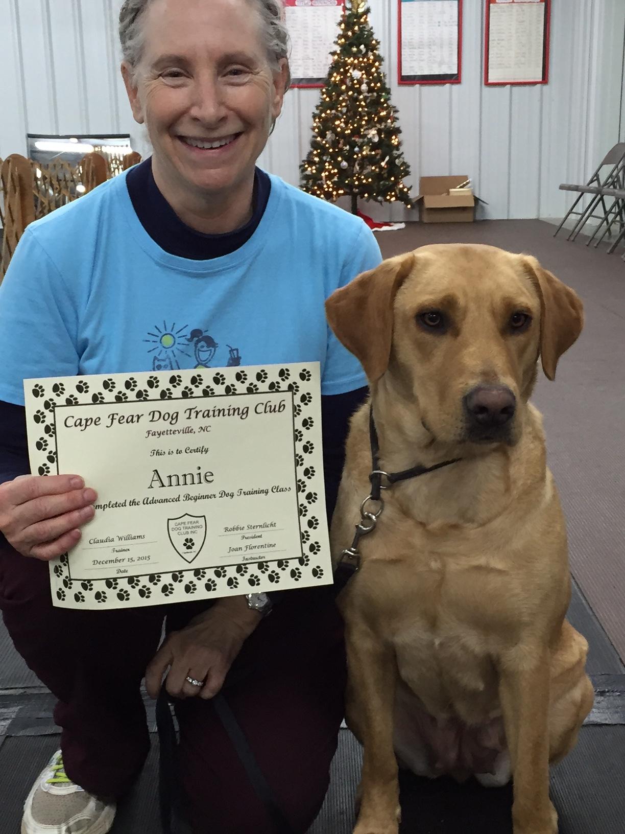 canine good citizen certificate 1