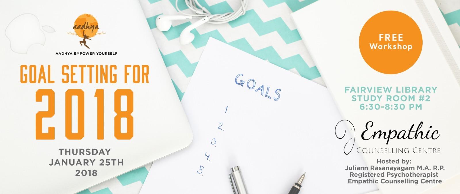 Goal Setting for 2018