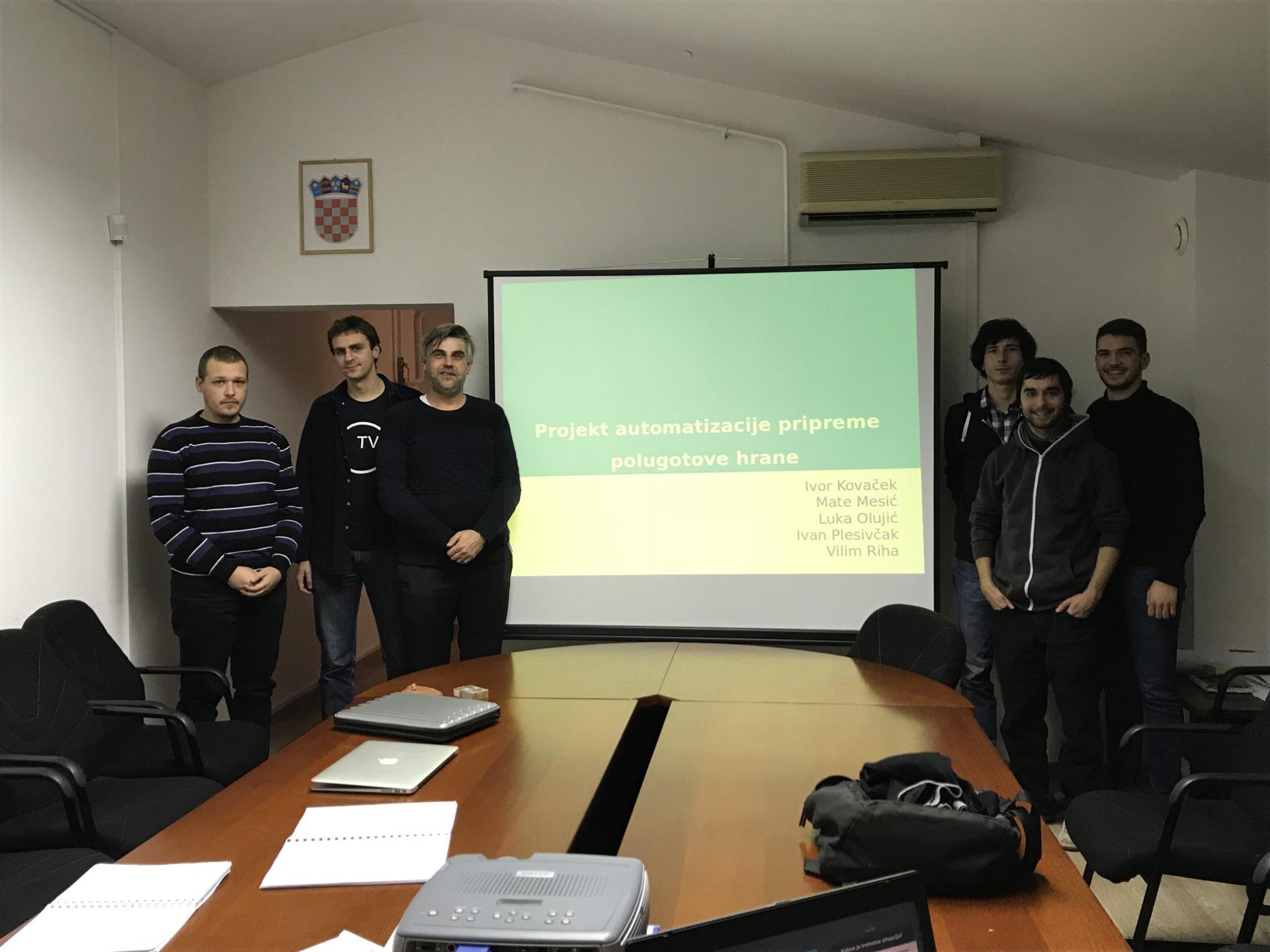 Vijest: Studenti prezentirali CISS-u inovaciju za prehrambenu industriju