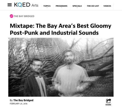 KQED Best Post Punk
