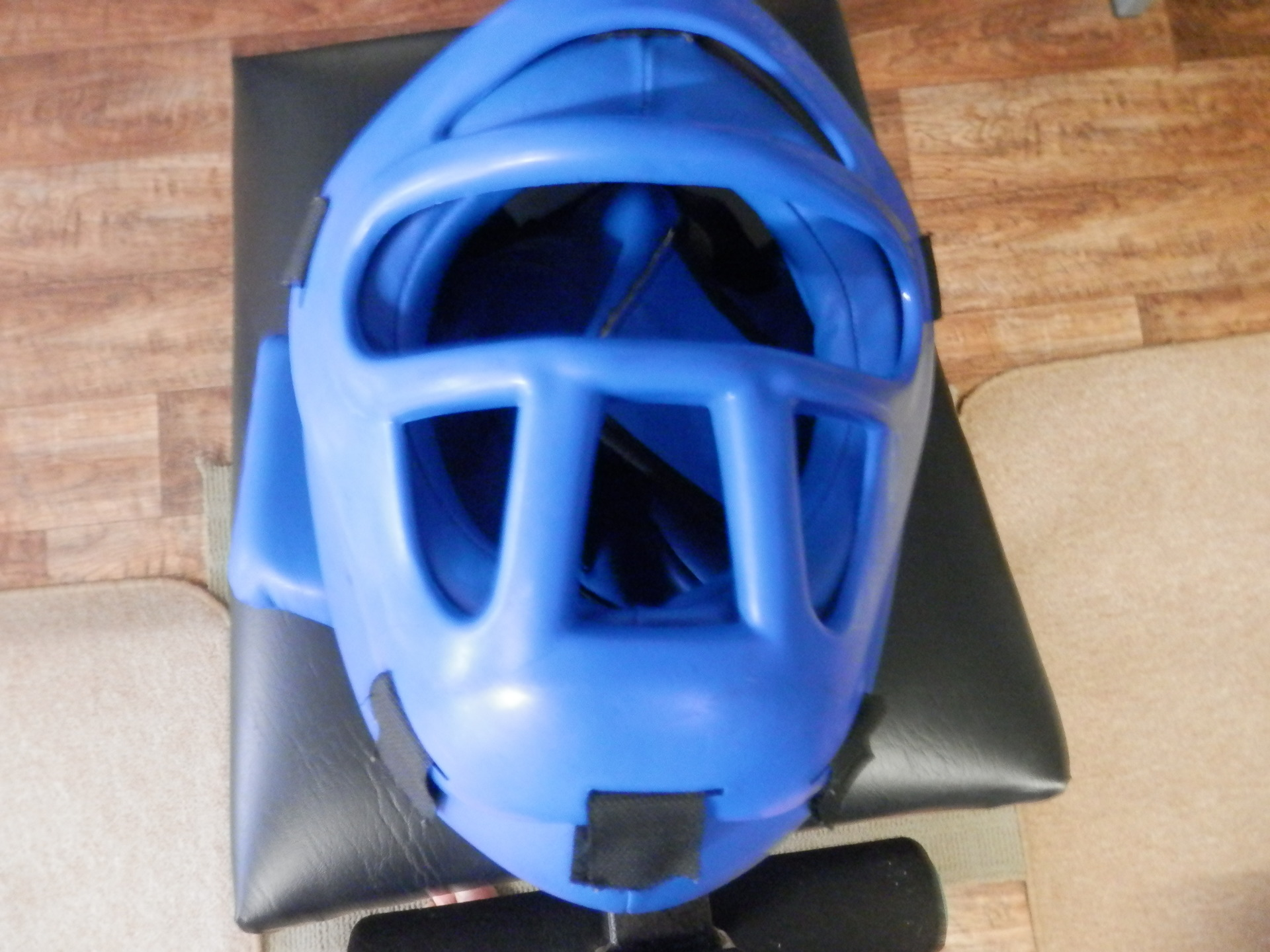 Grilled Head Gear Blue or Red