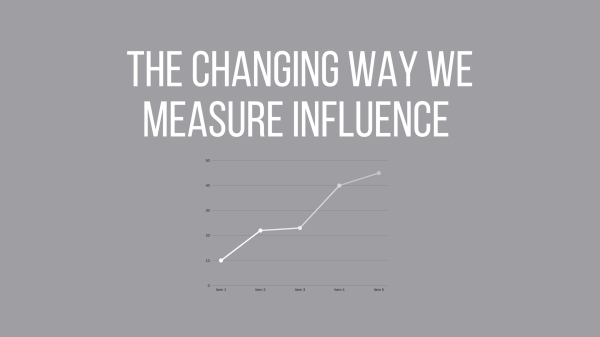The changing way we measure influence