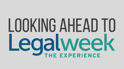 Looking ahead to Legalweek, The Experience