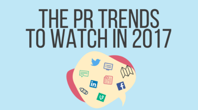 The PR trends to watch in 2017
