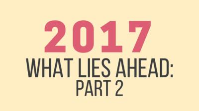 Part 2: What lies ahead