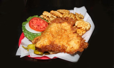 Fried Grouper Sandwich