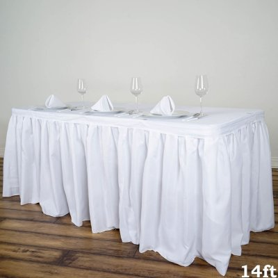 Poly Table Skirts