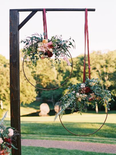 Custom Hoop Decor