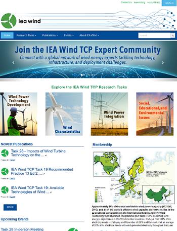 IEA Wind TCP Website