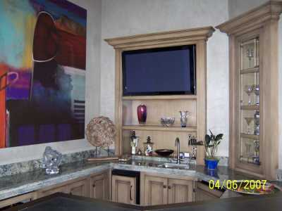 Designer Home Bar AV