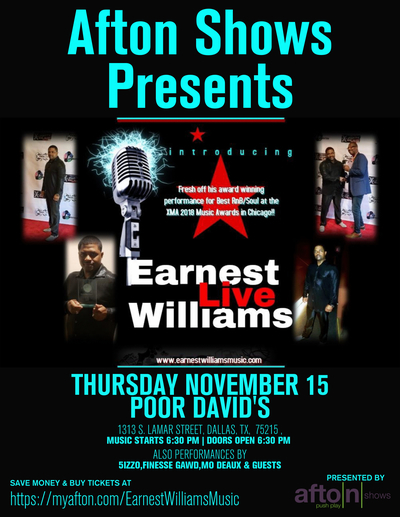 Earnest Williams Live