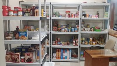 Our food pantry has grown!