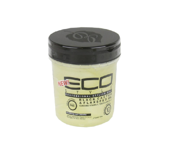 ECO STYLE Jamaican Black Castor Oil & Flaxseed Gel