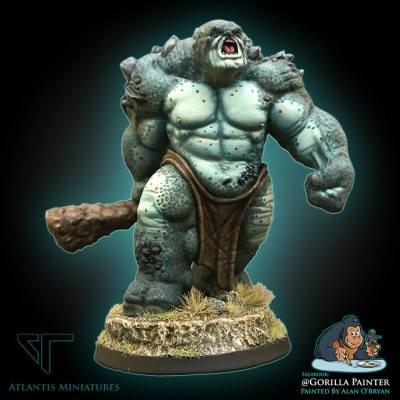 Blue Cave Troll