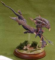 Dark Elf Flying Dragon