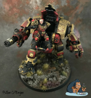 Space Marine Redemptor Dread.