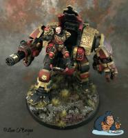 Space Marine Redemptor Dread.