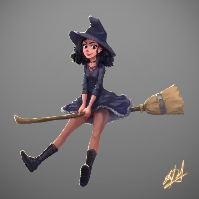 witch girl teen