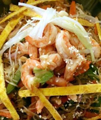 Shrimp Japchae
