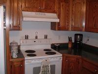Kitchen backsplash before remodel