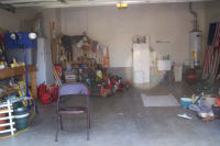 Garage before conversion to apartment