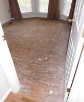 Old flooring to be replaced