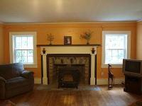 Renovated log home