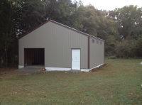 Finished shop/garage build