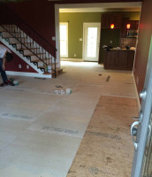 Replacing flooring throughout house