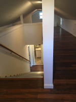 Stairway to attic completed
