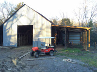Barn after being rebuilt