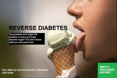 Reverse Diabetes With The Ice Cream Diet: Libre Blood Sugra Diet