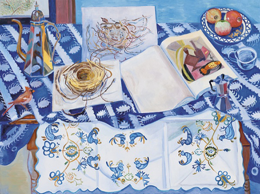 Breakfast with Braque