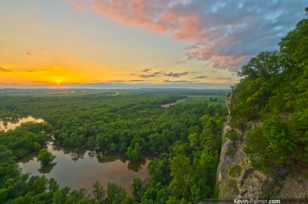 Southern Illinois vistas are breathtaking!
