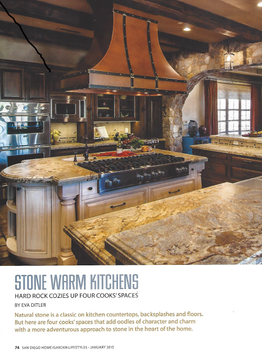 San Diego Home/Garden Magazine - January 2015