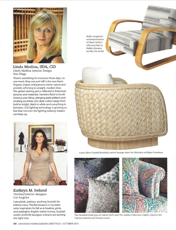 San Diego Home/Garden Magazine - October 2014