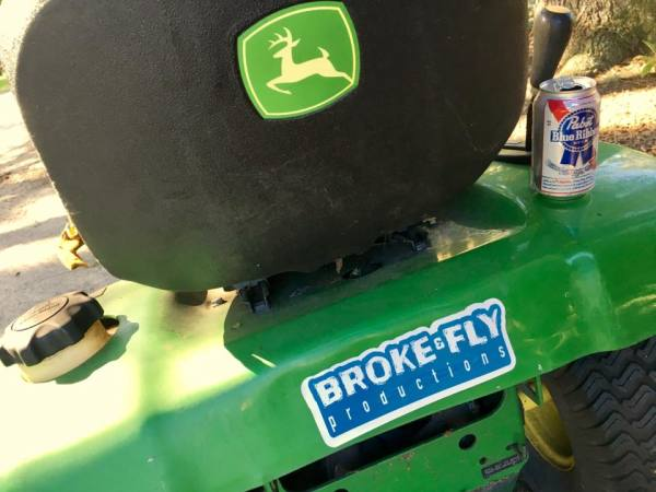 Broke & Fly Productions Sticker